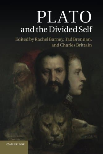 Plato and the Divided Self book cover.