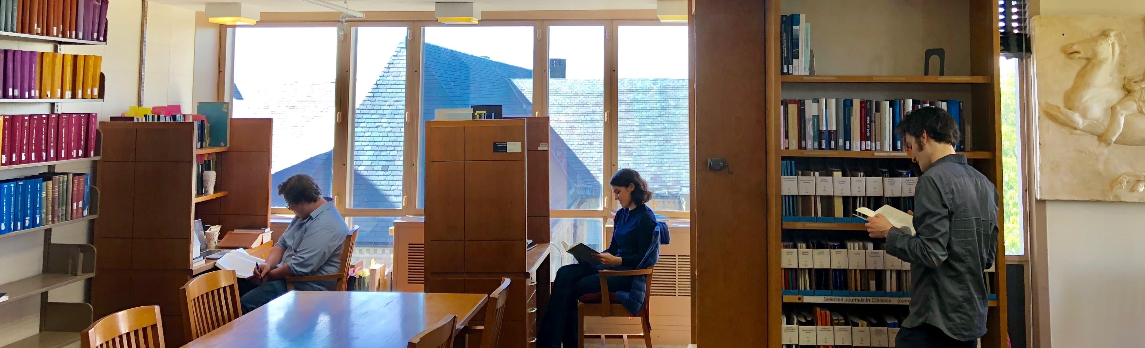 Classics Graduate Study Room, Olin LIbrary