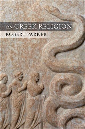 Book cover: On Greek Religion by Robert Parker.